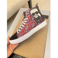 Fendi High Tops Casual Shoes For Men #547851