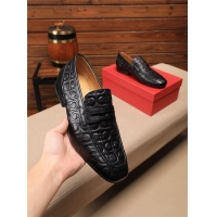 Ferragamo Salvatore FS Leather Shoes For Men #549054