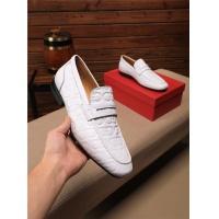 Ferragamo Salvatore FS Leather Shoes For Men #549057