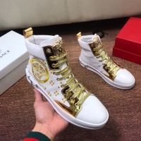 Versace High Tops Shoes For Men #549485