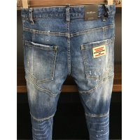 Cheap Dsquared Jeans Trousers For Men #549573 Replica Wholesale [$58.20 USD] [W#549573] on Replica Dsquared Jeans