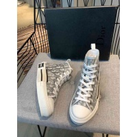 Cheap Christian Dior High Tops Shoes For Men #549900 Replica Wholesale [$85.36 USD] [W#549900] on Replica Christian Dior High Tops Shoes