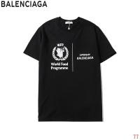 Balenciaga T-Shirts For Unisex Short Sleeved O-Neck For Unisex #550072