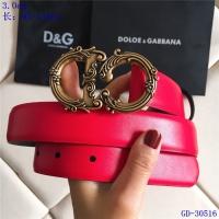 Dolce & Gabbana D&G AAA Belts For Women #550208