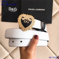 Dolce & Gabbana D&G AAA Belts For Women #550210