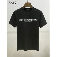Armani T-Shirts Short Sleeved O-Neck For Men #550587