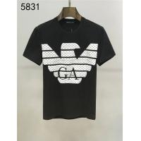 Armani T-Shirts Short Sleeved O-Neck For Men #550633