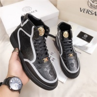 Versace High Tops Shoes For Men #550698