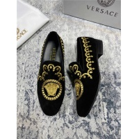 Versace Leather Shoes For Men #550797