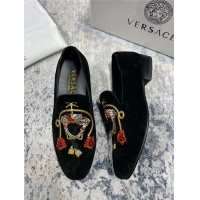 Versace Leather Shoes For Men #550798