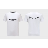 Fendi T-Shirts Short Sleeved O-Neck For Men #551094