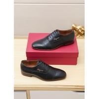 Ferragamo Salvatore FS Leather Shoes For Men #551673