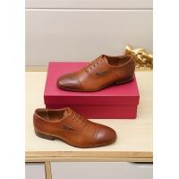 Ferragamo Salvatore FS Leather Shoes For Men #551674