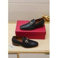 Ferragamo Salvatore FS Leather Shoes For Men #551677