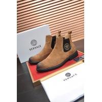 Cheap Versace Boots For Men #551724 Replica Wholesale [$108.64 USD] [W#551724] on Replica Versace Boots