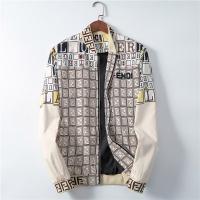 Fendi Jackets Long Sleeved Zipper For Men #551901