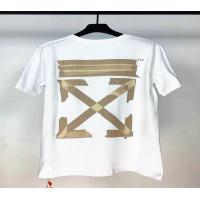 Off-White T-Shirts Short Sleeved O-Neck For Men #552842