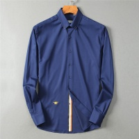 Christian Dior Shirts Long Sleeved Polo For Men #552947