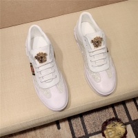 Cheap Versace Casual Shoes For Men #552972 Replica Wholesale [$73.72 USD] [W#552972] on Replica Versace Shoes