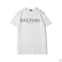 Balmain T-Shirts Short Sleeved O-Neck For Men #553029