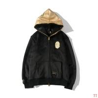 Bape Jackets Long Sleeved Zipper For Men #553037