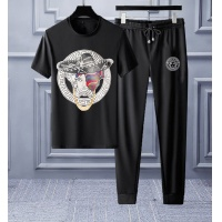 Versace Tracksuits Short Sleeved O-Neck For Men #553217