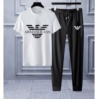 Armani Tracksuits Short Sleeved O-Neck For Men #553225