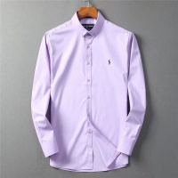 Ralph Lauren Polo Shirts Long Sleeved Polo For Men #553319