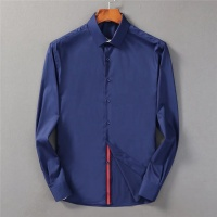 Armani Shirts Long Sleeved Polo For Men #553373