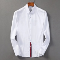 Armani Shirts Long Sleeved Polo For Men #553374