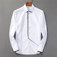 Armani Shirts Long Sleeved Polo For Men #553375
