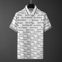 Dolce & Gabbana D&G T-Shirts Short Sleeved Polo For Men #561221