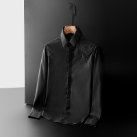 Christian Dior Shirts Long Sleeved Polo For Men #561337