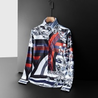 Versace Shirts Long Sleeved Polo For Men #561345
