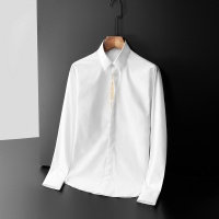 Versace Shirts Long Sleeved Polo For Men #561359