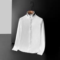 Armani Shirts Long Sleeved Polo For Men #561382