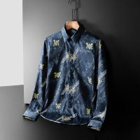 Armani Shirts Long Sleeved Polo For Men #561389