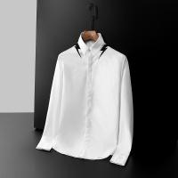 Armani Shirts Long Sleeved Polo For Men #561395