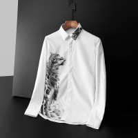 Givenchy Shirts Long Sleeved Polo For Men #561406