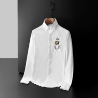 Dolce & Gabbana D&G Shirts Long Sleeved Polo For Men #561443