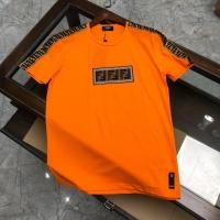 Fendi T-Shirts Short Sleeved O-Neck For Men #561994