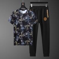 Versace Tracksuits Short Sleeved O-Neck For Men #562468
