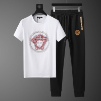 Versace Tracksuits Short Sleeved O-Neck For Men #562487