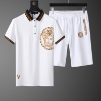 Versace Tracksuits Short Sleeved O-Neck For Men #562549