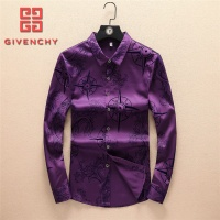 Givenchy Shirts Long Sleeved Polo For Men #562676