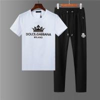 Dolce & Gabbana D&G Tracksuits Short Sleeved O-Neck For Men #562989