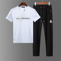 Dolce & Gabbana D&G Tracksuits Short Sleeved O-Neck For Men #562996