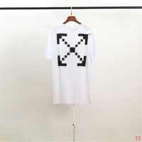 Off-White T-Shirts Short Sleeved O-Neck For Men #754622