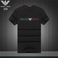 Armani T-Shirts Short Sleeved O-Neck For Men #754916