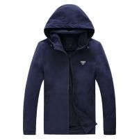 Prada Jackets Long Sleeved Zipper For Men #756955